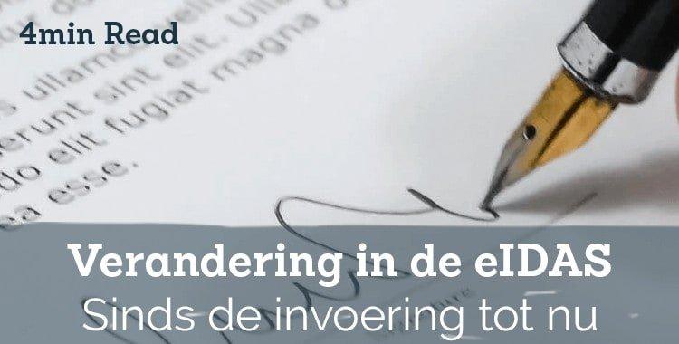 Veranderingen in eIDAS (Electronic IDentification Authentication and trust Services)