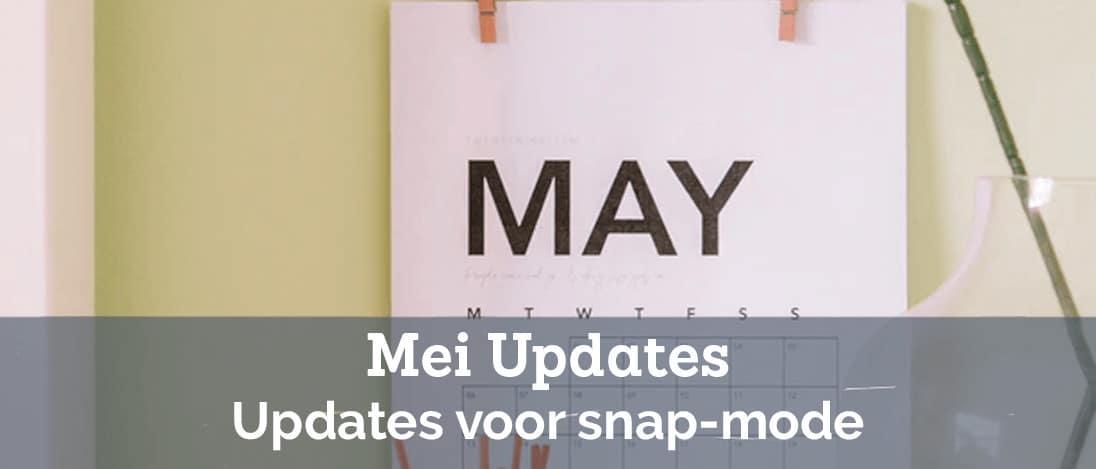 Product Updates Voor Mei 2021