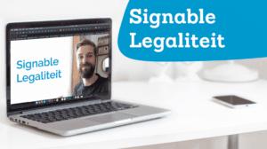 Signable Legaliteit