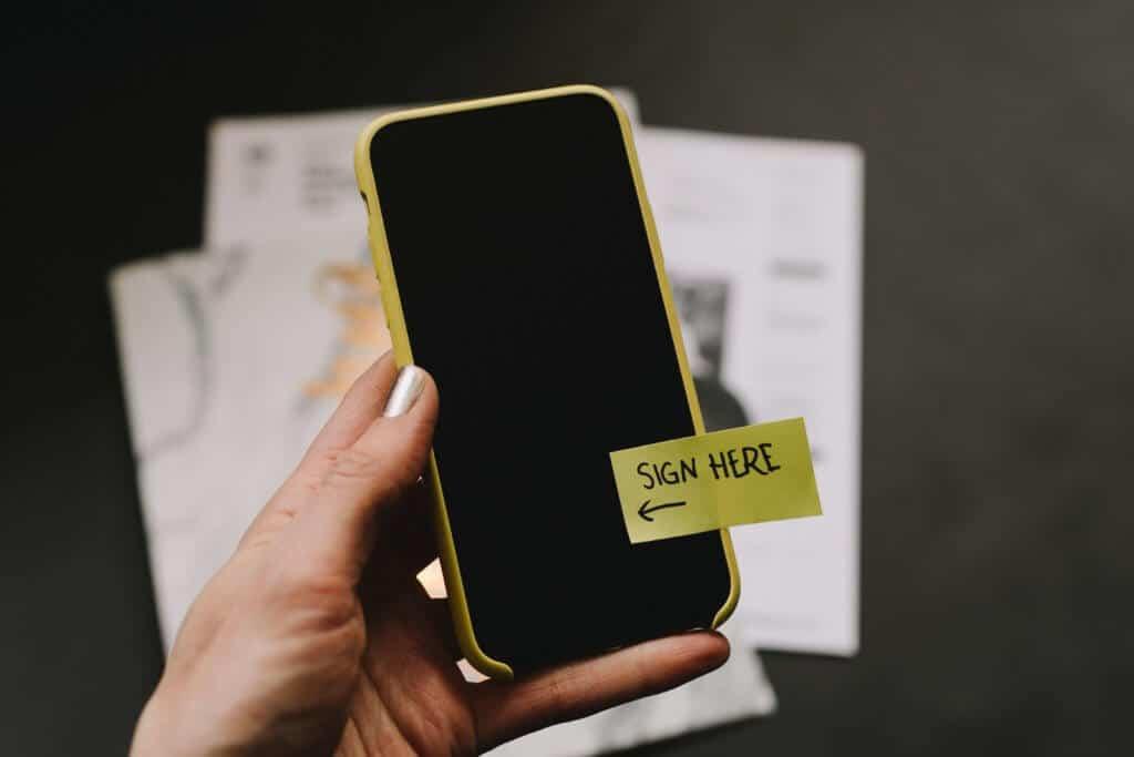 Digitale handtekening gids